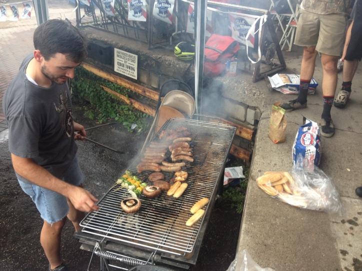 Sausage Fest.