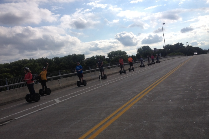 No matter where I go, I can't escape the Segways.