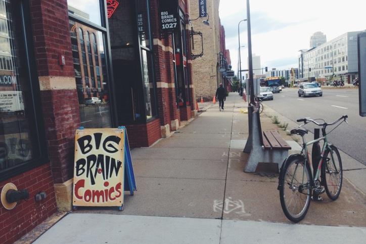 Awesome comic shop.  Lot's of good stuff inside.